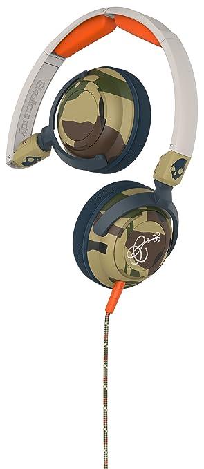 21 opinioni per Skullcandy Lowrider Cuffie Esterne con Microfono, Mimetico/Osso/Ardesia