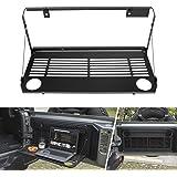 Tailgate Table for Jeep Wrangler 2018 2019 JL Rear Trunk Flexible Door Table Foldaway Shelf Rack Cargo Luggage Holder…