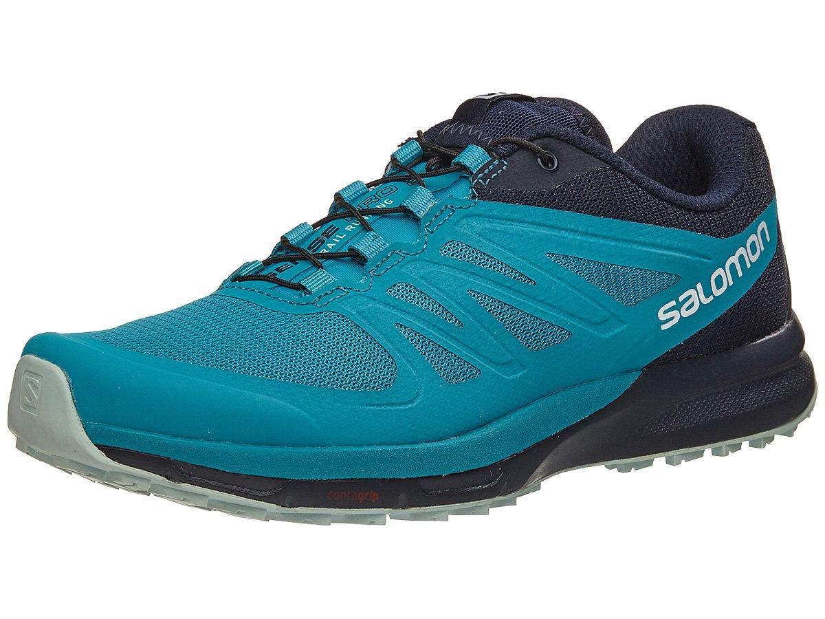 Salomon Sense Pro 2 Running Shoe - Women's Enamel Blue/Navy Blazer/Eggshell Blue 10