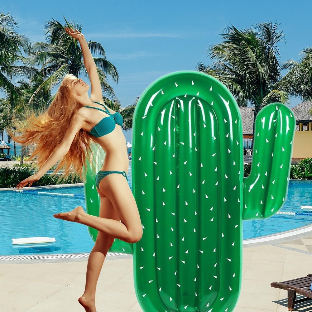 Amazon.com: Cherry-Lee - Cojín flotante con forma de cactus ...
