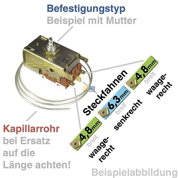 Termostato kühlther mostat K57 de l5840 Ranco Frigorífico como Liebherr 6151119: Amazon.es