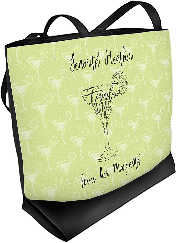Margarita Lover Beach Tote Bag Personalized Regular Front