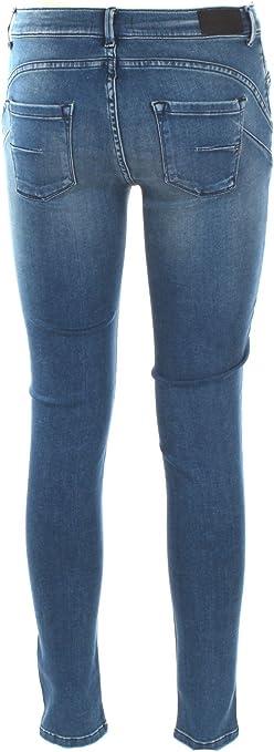 0//ZERO CONSTRUCTION Jeans Donna 27 Denim Morea//2s Swc511 Autunno Inverno 2017//18