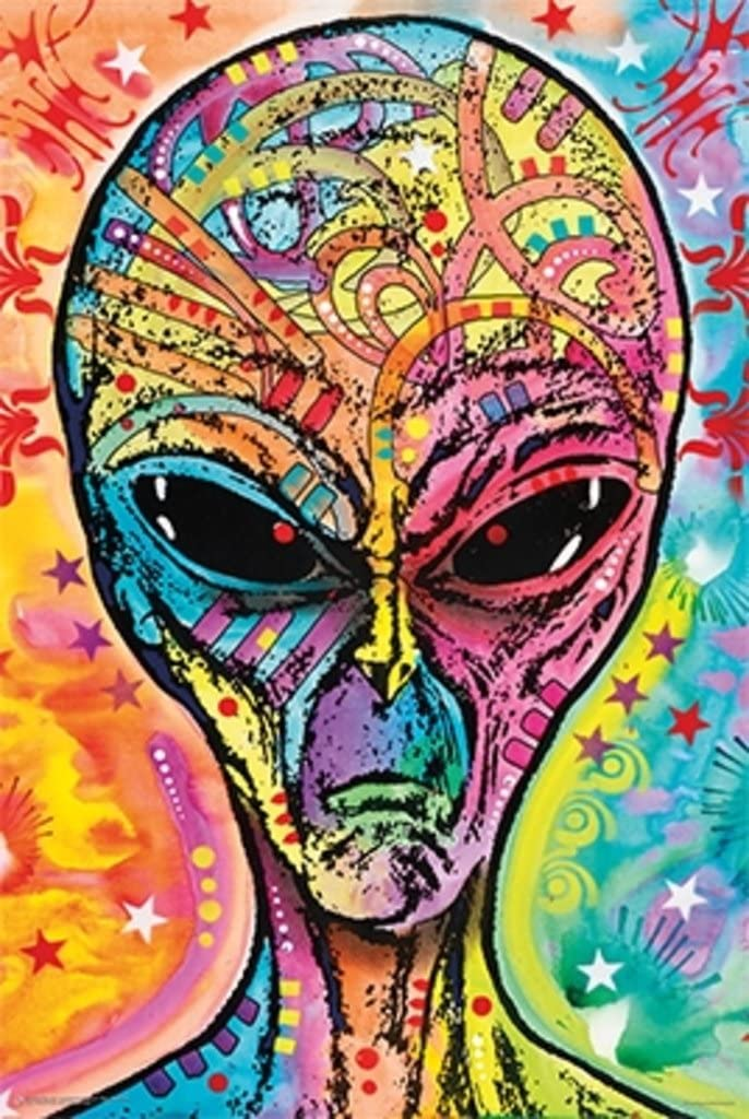 Alien By Dean Russo Art Print Poster 24x36