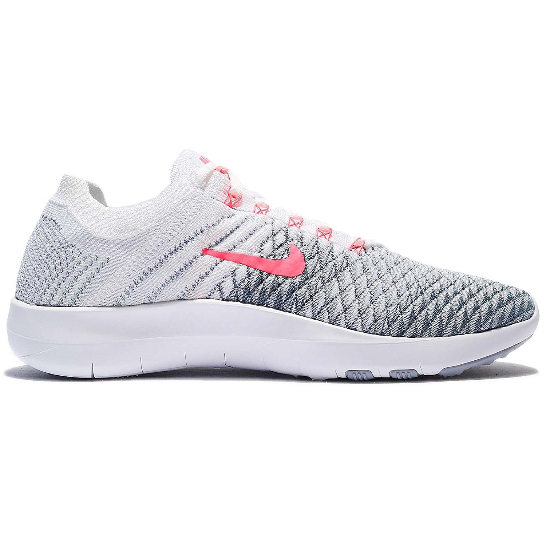 new concept b08aa 2b10b Zapatillas de running Nike Free TR Flyknit 2 para mujer Blanco   Hyper  Punch Wolf Gray