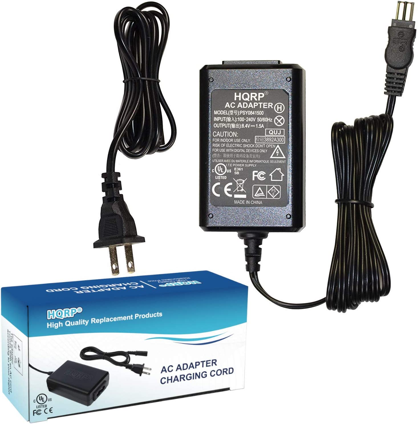 CCD-TRV128E AC Adapter Power Supply for Sony CCD-TRV107E CCD-TRV118E CCD-TRV108E CCD-TRV138E Handycam Camcorder