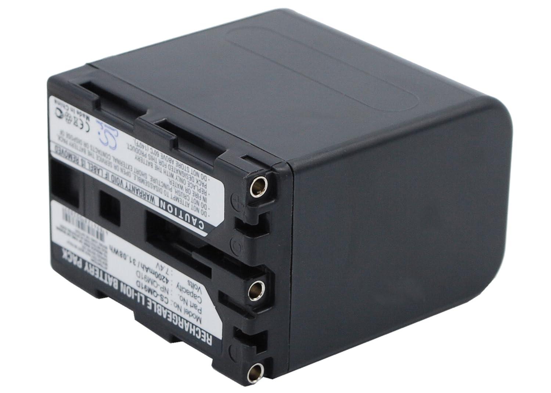 Cameron Sino Rechargeble Battery for Sony dcr-trv240e (4200 mAh)   B01DNNM8GO