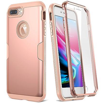 Amazon.com: YOUMAKER Funda para iPhone 8 Plus y iPhone 7 ...