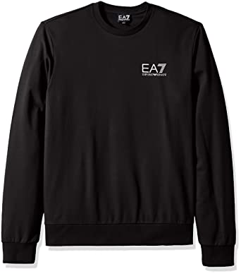 7ed7a78376 Emporio Armani Men's Train Core Id French Terry Sweatshirt at Amazon ...