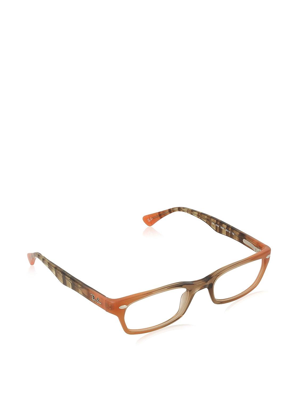 44e60d8192 Amazon.com  Ray-Ban Vista RX5150 5487 Eyeglasses Gradient Brown on Orange   Shoes