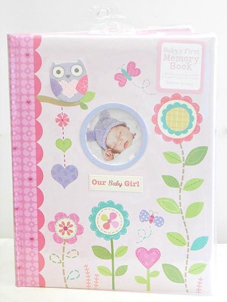 Amazon.com: Del bebé primera memoria libro