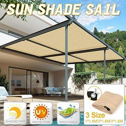 LIMMC - Toldo impermeable rectangular para protección solar al ...