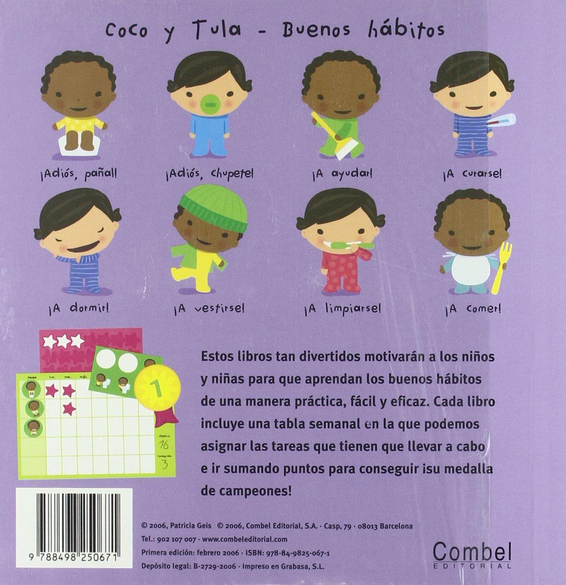 (Coco y Tula. Buenos hábitos): Amazon.es: Patricia Geis Conti: Libros