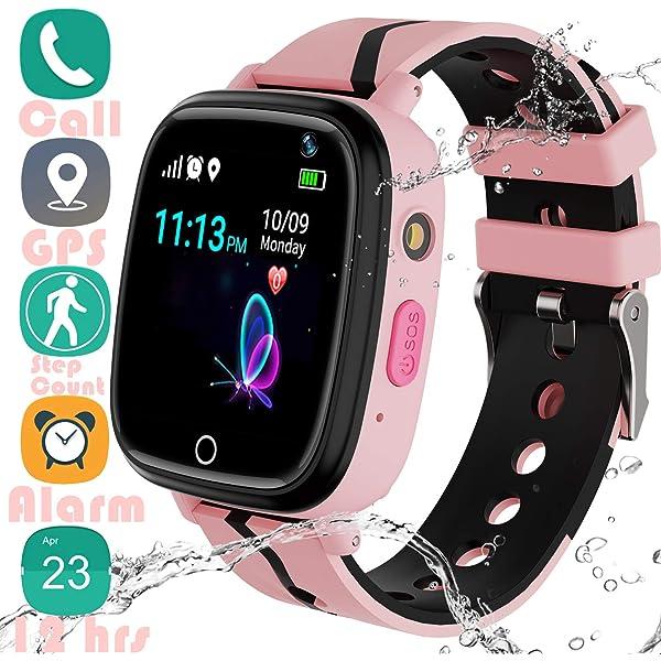 Amazon.com: Reloj inteligente para niños sin SIM para niñas ...