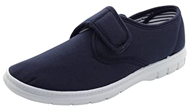 Men TrueFace Espadrille Shoes Navy UK7/EU41