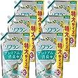 【ケース販売 大容量】ソフラン プレミアム消臭プラス 柔軟剤 フルーティグリーンアロマの香り 詰め替え 1440ml×6個