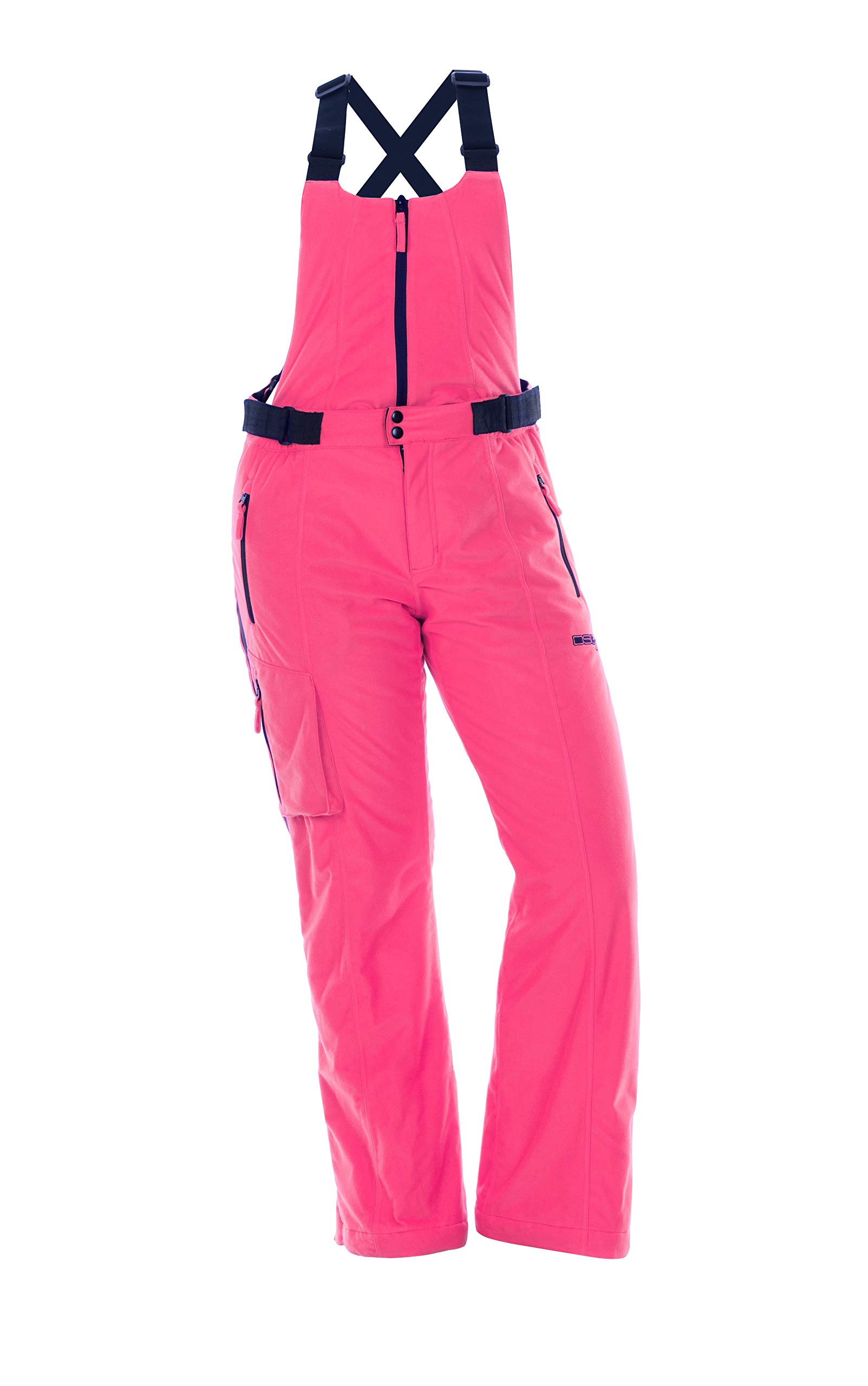 DSG Outerwear Women's Hunting Kylie 3.0 Drop-Seat Bib (Blaze Pink, 3XL) by DSG Outerwear