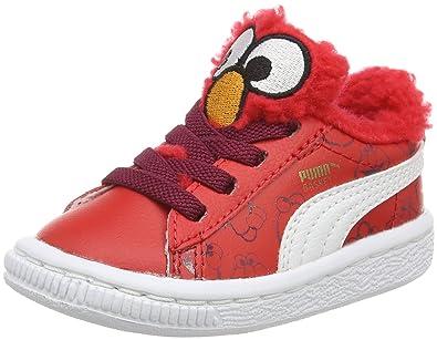 bdd6ea11eb3716 Puma Basket Sesame Elm Inf Walking Baby Shoes