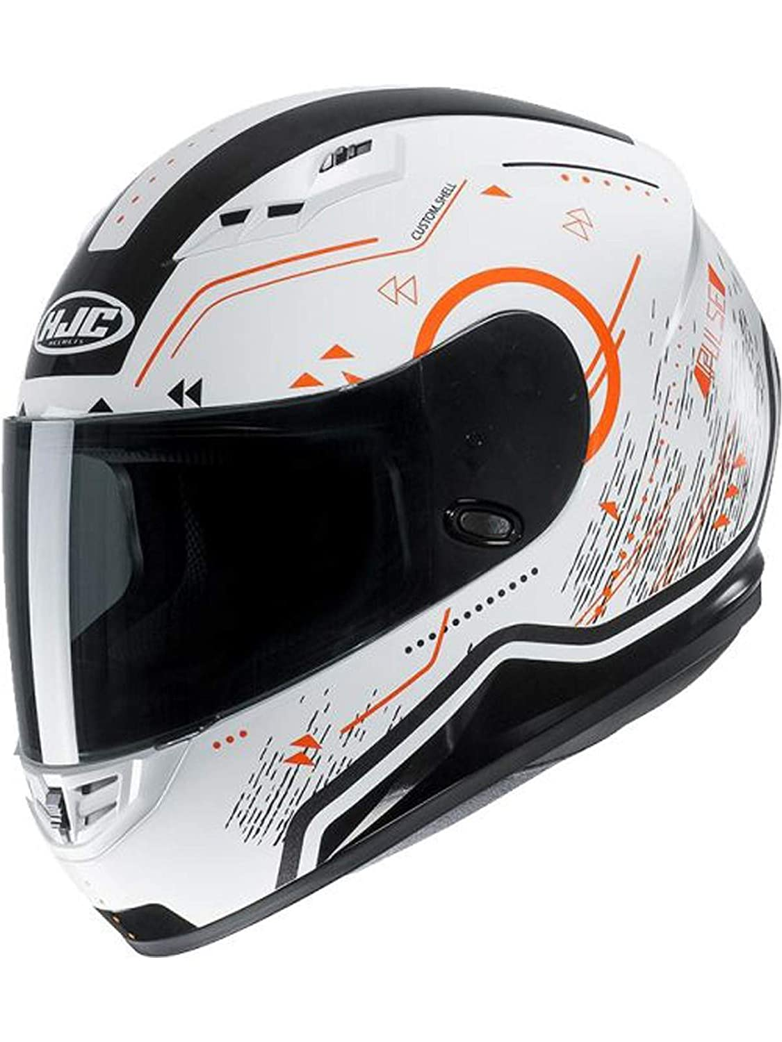 HJC Red CS-15 Safa Motorcycle Helmet