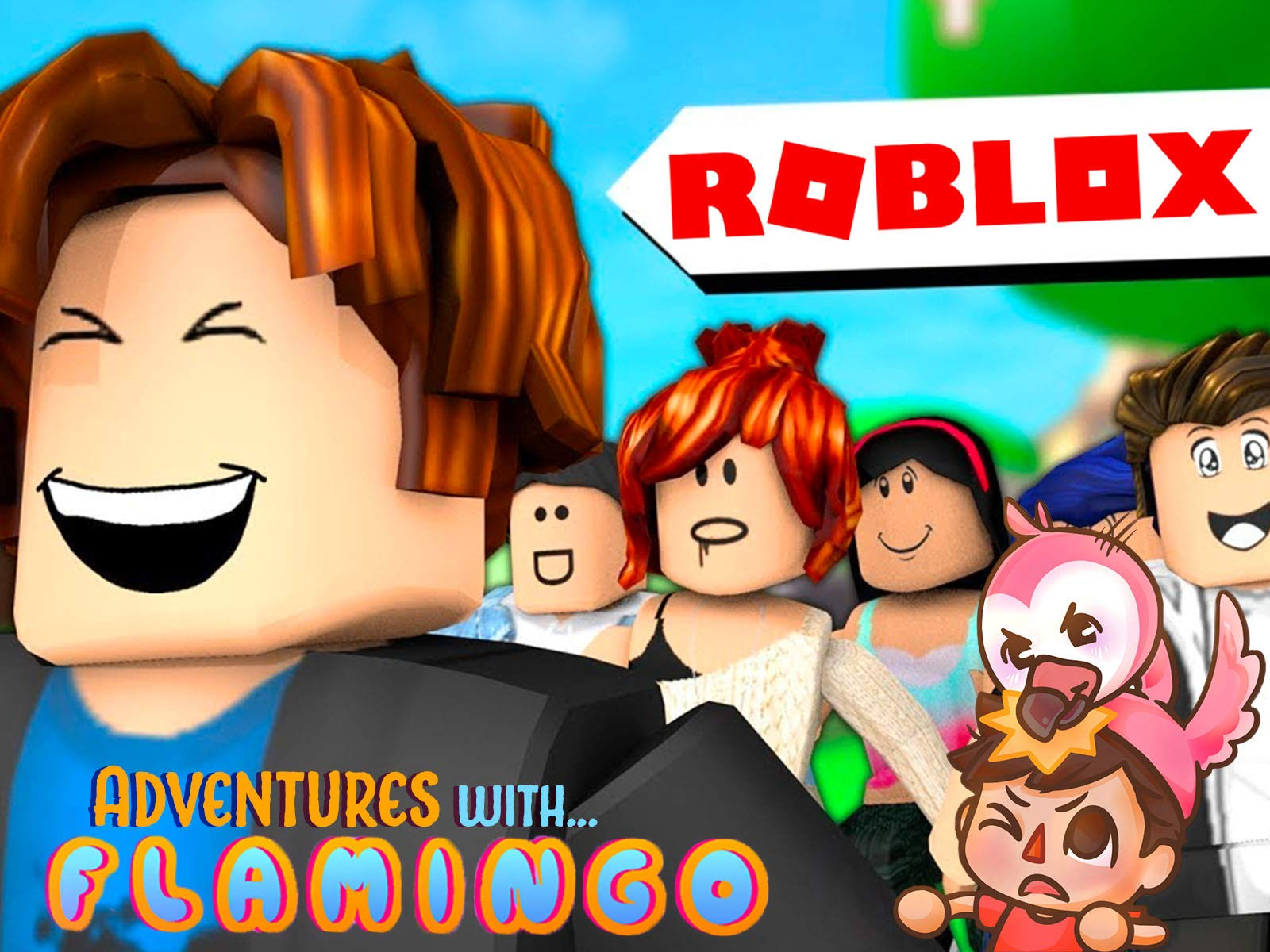 Amazon com: Watch Clip: Roblox Adventures with Flamingo | Prime Video