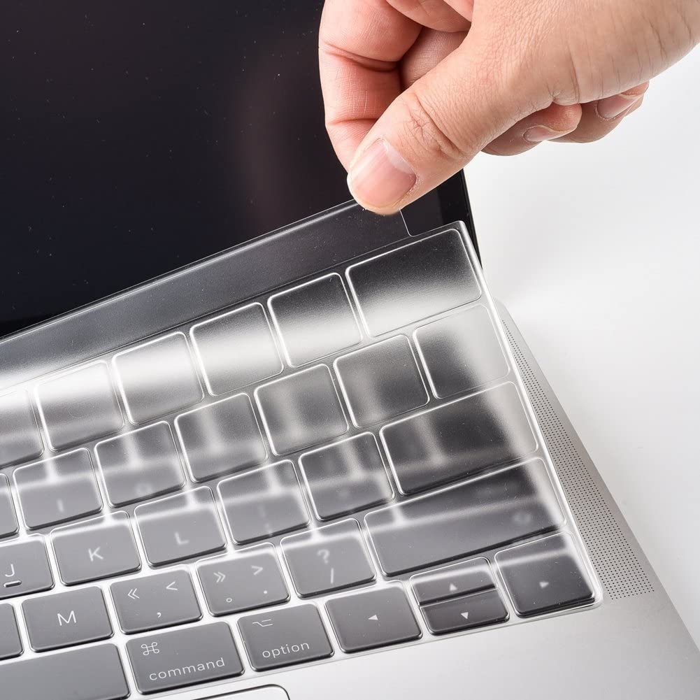 2016 A1706// A1707 COOSKIN Keyboard Cover Protector for MacBook Pro 13//15 with Touch Bar