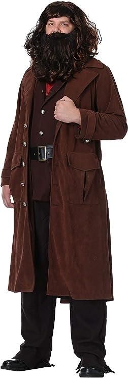 Charades Disfraz de Harry Potter Hagrid Hombre - Marrón - 4X ...