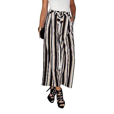 b7abac4b5ade6 Dresscode-Berlin Damen High Waist Culotte Paperbag Hose mit ...