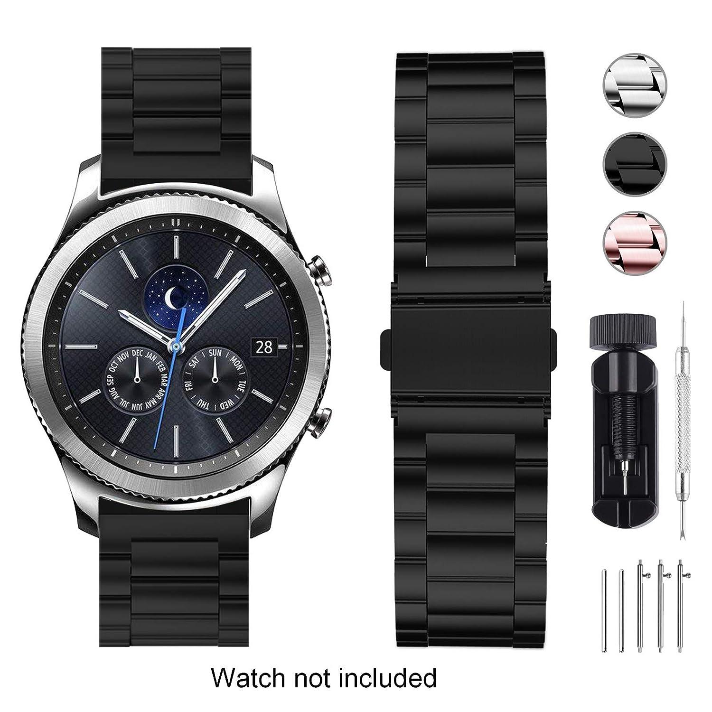 Fullmosa Bracelet Compatible avec Huawei Watch/ASUS Zenwatch 2 1.45