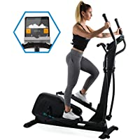 Capital Sports Helix • Cross Trainer • Bluetooth • magnetisches Bremssystem mit 32 Leveln • App-Integration • Option bis 27 kg Schwungmasse • Tablet-Halterung • Pulssensor