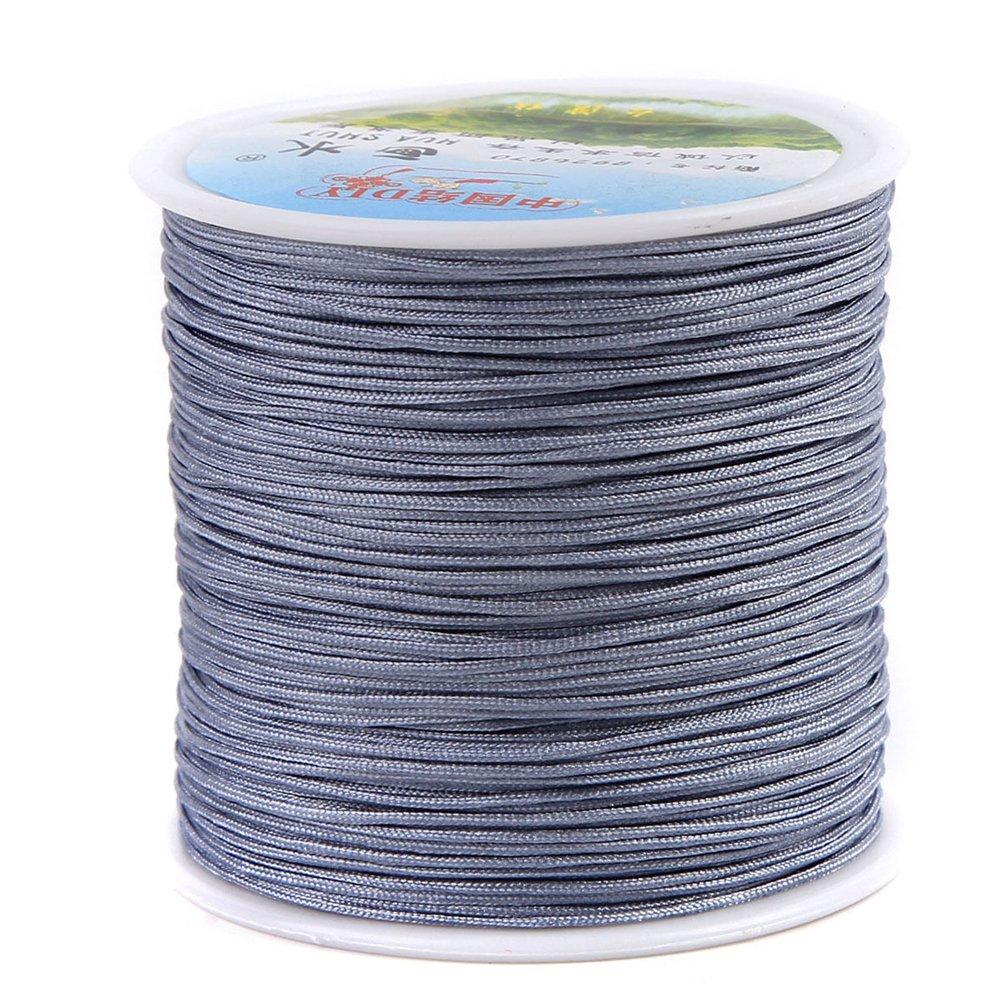 Chinese Knotting Cord - 0.8mm 100M/Roll Shamballa Macrame Nylon Braided Cord String Thread DIY Braided Rope (Mix 29 Rolls) by zhengjun (Image #3)