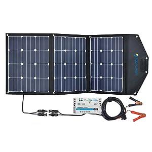120W  ACOPOWER 充電コントローラ付 ソーラーパネル