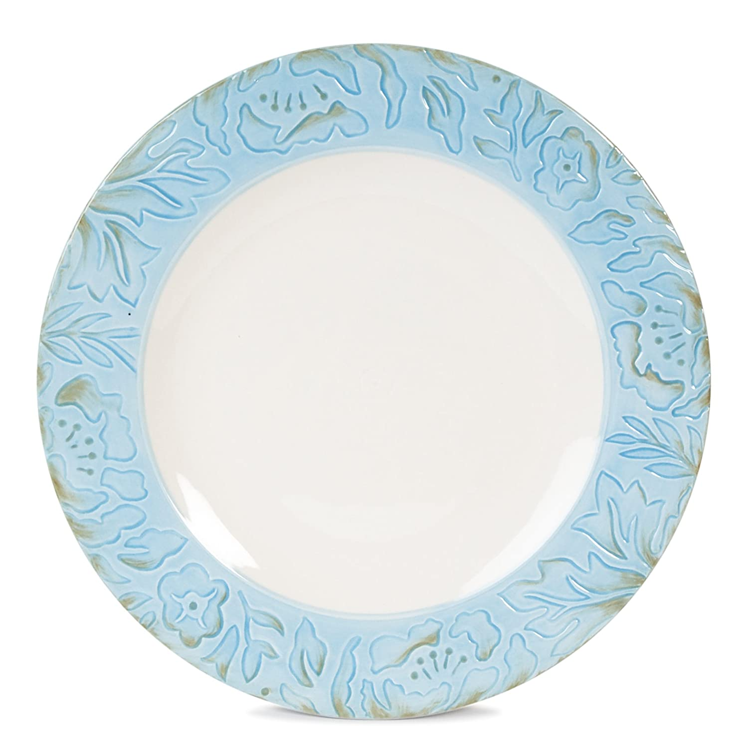 amazon com toulouse collection dinner plate blue dinner plates