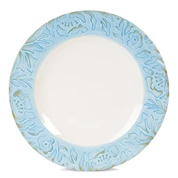 Toulouse Collection Dinner Plate Blue  sc 1 st  Amazon.com & Amazon.com | Toulouse Collection Dinner Plate Blue: Dinner Plates