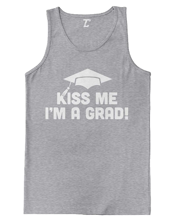 Kiss Me Im A Grad! College Graduation Mens Tank Top