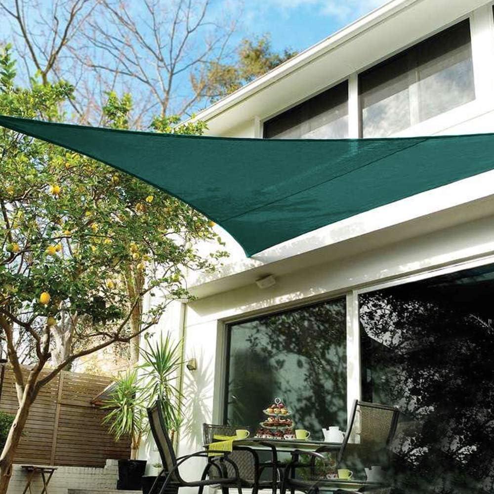 for Patio Deck Garden Pool Garden Fabric Durable Sun Shade Sail Canopy Permeable UV Block Cream White Sun Shade Canopy 12 x 18ft