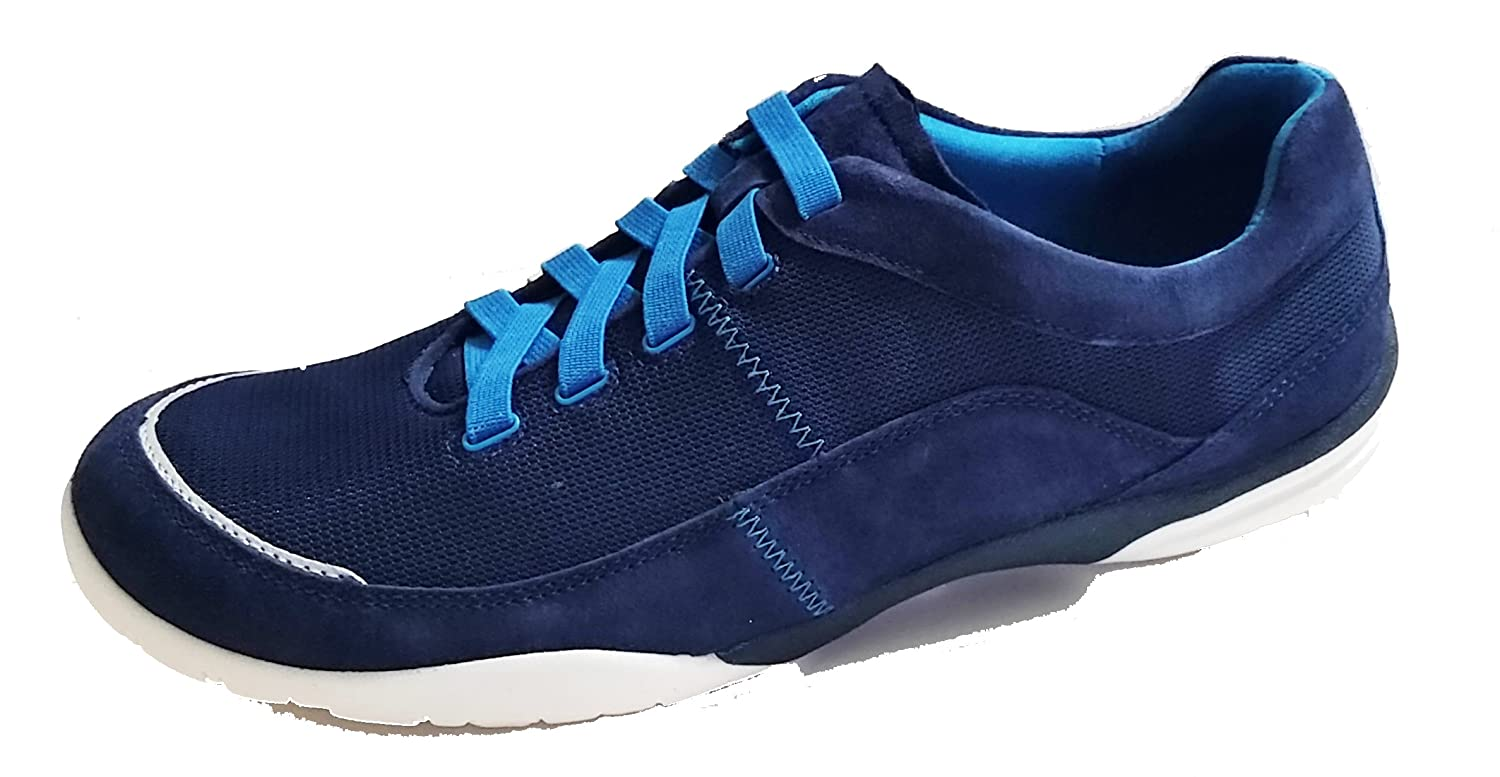 Amazon.com: Clarks Vailee Aster W Round Toe Canvas Sneakers - Blue - 8: Toys & Games