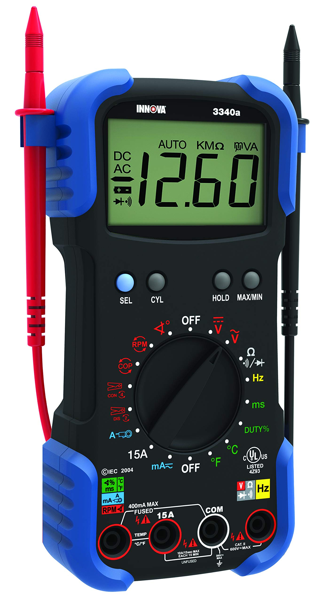 NEW INNOVA 3320 Auto-Ranging Digital Multimeter Electrical Battery Alternator