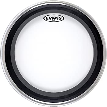 evans emad clear bass drum head 26 inch musical instruments. Black Bedroom Furniture Sets. Home Design Ideas