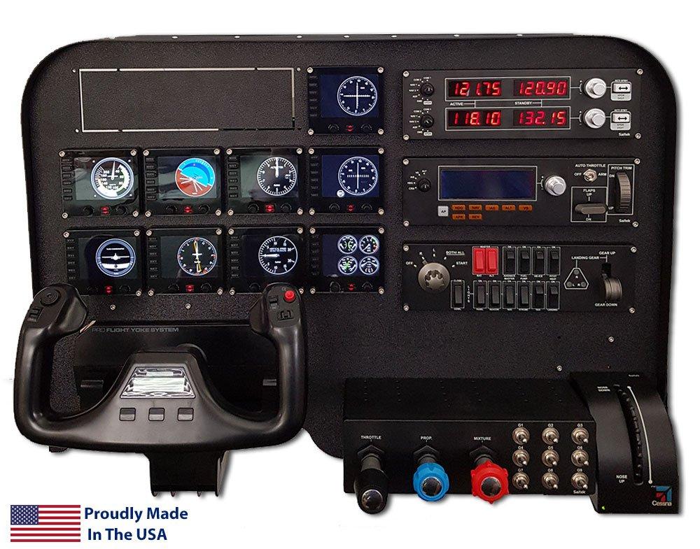 Flight Velocity Legacy Cockpit Panel - Saitek/Logitech Pro Flight Compatible