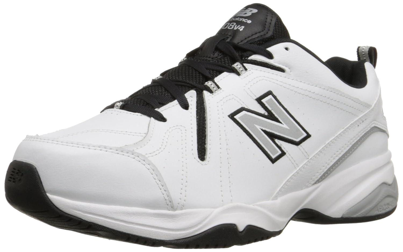 New Balance mx608 V4 de entrenamiento para hombre zapatos 9 D(M) US Blanco/Negro