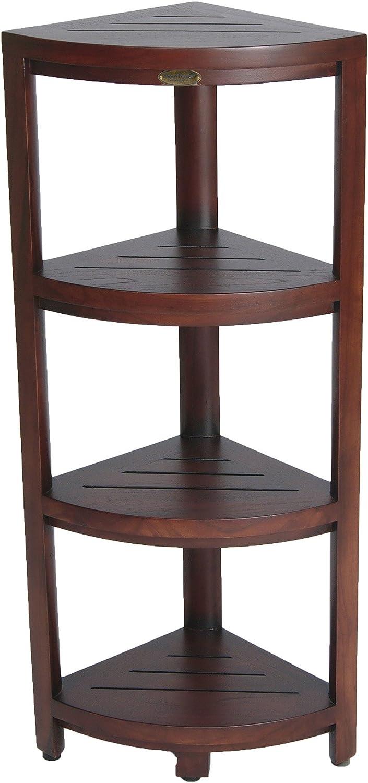 Soporte para 6 botellas de madera para aceites esenciales organizador de cosm/éticos ConStore soporte para el hogar
