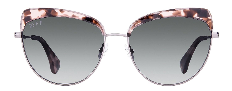 98674dc5196 Amazon.com  Diff Eyewear  Izzy - Designer Cat Eye Glasses - 100% UVA UVB   Clothing