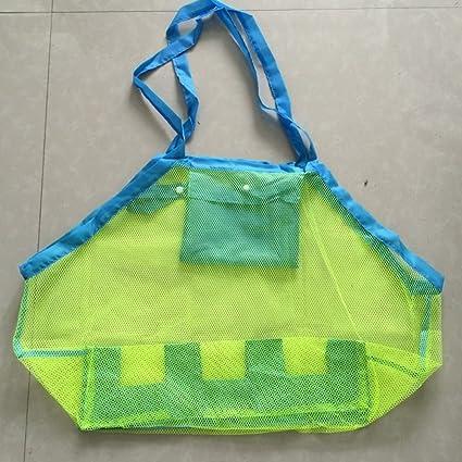 Amazon.com: Bolsa de bolsas de playa bolsa de malla, niños ...
