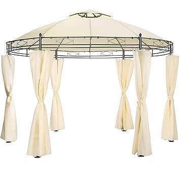 TecTake Tonnelle de Luxe Ronde Tente pavillon de Jardin d\'événement ...