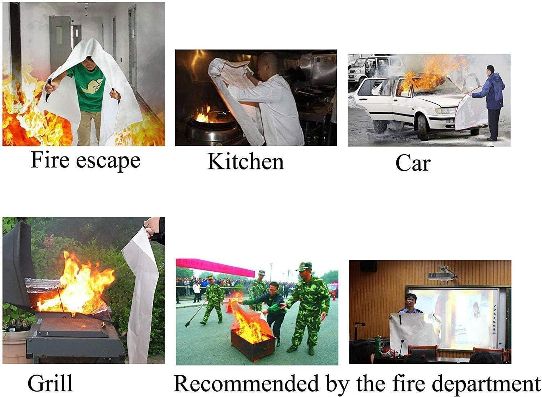oficina para cocina chimenea coche Manta ign/ífuga de 1,5 x 1,5 m almac/én