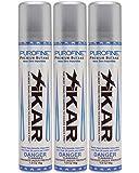 XIKAR PUROFINE Premium Butane Fuel Refill 1.9oz 55g / 100ml 3 Pack
