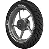 Ceat Zoom XL 110/80-17 57P Tubeless Bike Tyre, Rear (Home Delivery)