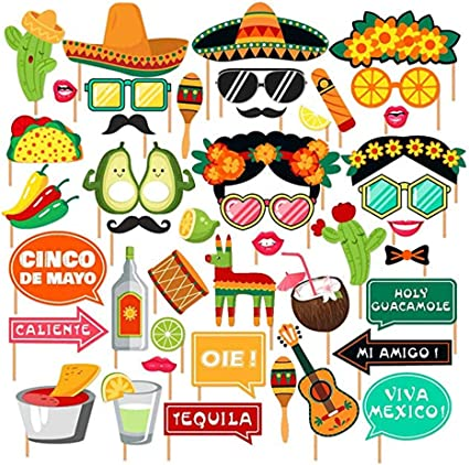 Amazon.com: SurBepo - Fiesta Mexicana suministros de fiesta ...