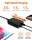 USB C Charger, AIDEAZ 60W Quick Charge 5-Port Multi Port USB Wall Charger, 30W Type-c PD Charger and 18W QC3.0 Charging Station Compatible for MacBook Air 2018/ iPhone 11/11Pro/Max/Xs/XR/iPad/Samsung