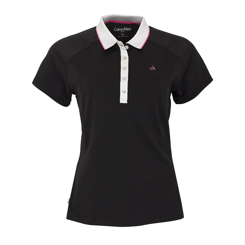 Calvin Klein - Camisa Deportiva - para Mujer Black/Blossom UK 14 ...